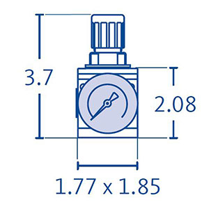 DRYPOINT MD Pressure Regulators